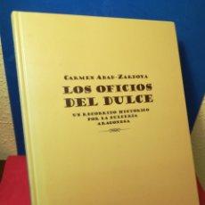 Libros de segunda mano: LOS OFICIOS DEL DULCE, UN RECORRIDO HISTÓRICO POR LA DULCERÍA ARAGONESA-CARMEN ABAD-ZARDOYA-PDA,2007. Lote 139111950