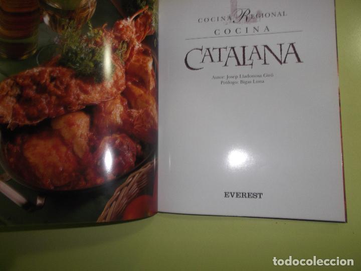 Libros de segunda mano: COCINA CATALANA JOSEP LLADONOSA GIRO 2000 - Foto 3 - 139262122