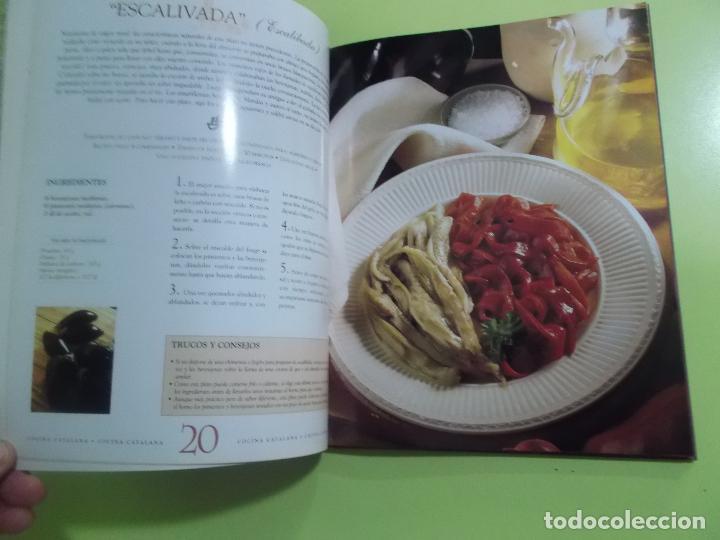 Libros de segunda mano: COCINA CATALANA JOSEP LLADONOSA GIRO 2000 - Foto 4 - 139262122
