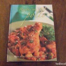 Libros de segunda mano: RECETAS CON POLLO - PARRAGON 2008. Lote 139345402