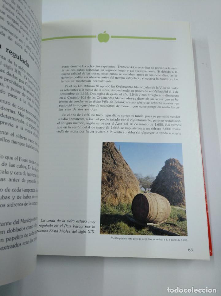 Libros de segunda mano: LA SIDRA. JOSE URIA IRASTORZA. SENDOA ARGITALDARIA. 1987 ESTUDIO INFORME TXAOKOLI. 2 TOMOS. TDK338 - Foto 3 - 139441962
