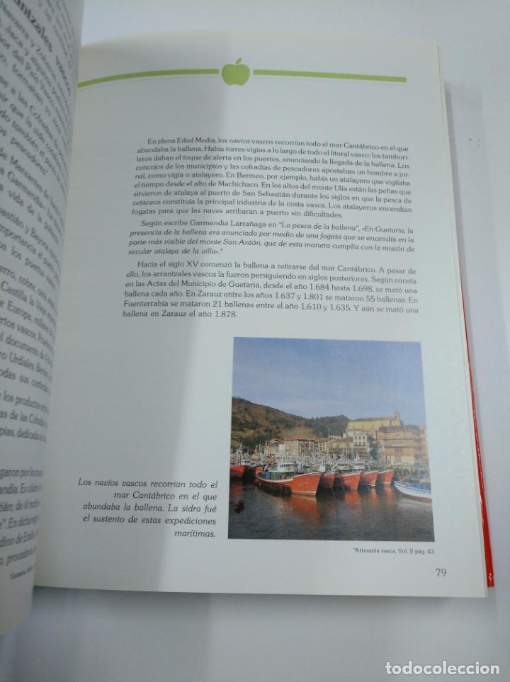 Libros de segunda mano: LA SIDRA. JOSE URIA IRASTORZA. SENDOA ARGITALDARIA. 1987 ESTUDIO INFORME TXAOKOLI. 2 TOMOS. TDK338 - Foto 4 - 139441962