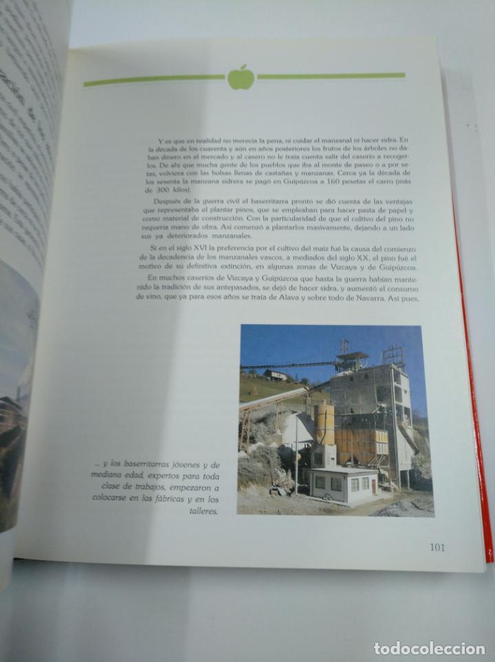Libros de segunda mano: LA SIDRA. JOSE URIA IRASTORZA. SENDOA ARGITALDARIA. 1987 ESTUDIO INFORME TXAOKOLI. 2 TOMOS. TDK338 - Foto 5 - 139441962