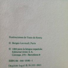 Libros de segunda mano: MOSTAZAS, VINAGRES Y CONDIMENTOS HECHOS EN CASA LIBRO VERDE DE LA COCINA ARÍN NUEVO 1983. Lote 139499082