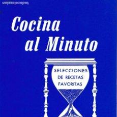 Livros em segunda mão: * CUBA * RECETAS * COCINA AL MINUTO. Lote 139677110