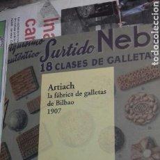 Libros de segunda mano: ARTIACH. LA FABRICA DE GALLETAS. ESTEBAN SANCHEZ. Lote 140288897