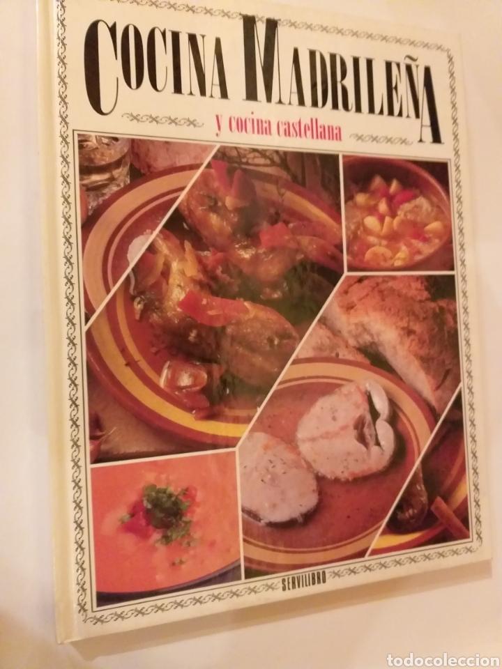 COCINA . COCINA MADRILEÑA Y COCINA CASTELLANA 1989 (Libros de Segunda Mano - Cocina y Gastronomía)