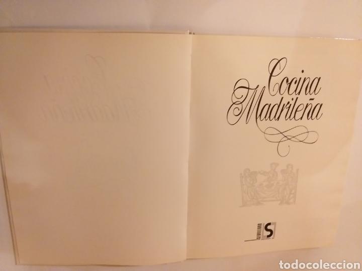 Libros de segunda mano: Cocina . Cocina madrileña y COCINA castellana 1989 - Foto 5 - 140311580