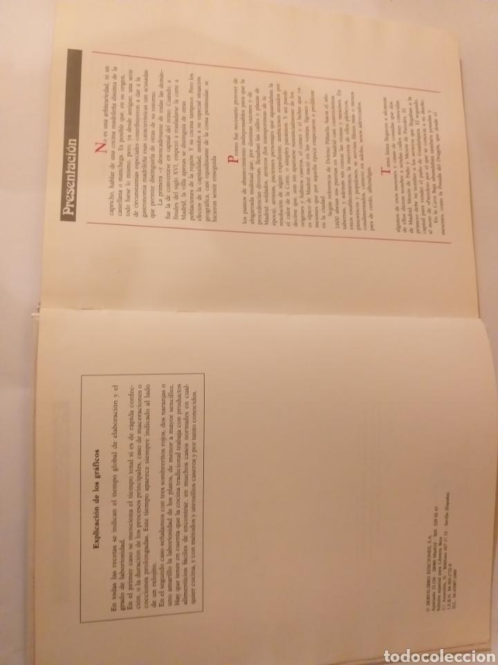 Libros de segunda mano: Cocina . Cocina madrileña y COCINA castellana 1989 - Foto 6 - 140311580