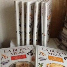 Libros de segunda mano: LOTE DE 9 LIBROS DE COCINA : LA BUENA MESA - NUEVOS. Lote 140870366