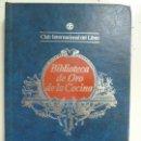 Libros de segunda mano: BIBLIOTECA DE ORO DE LA COCINA. NÚMERO 62. 1984. Lote 141192234