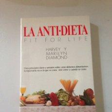 Libros de segunda mano: LA ANTI-DIETA. Lote 142322206