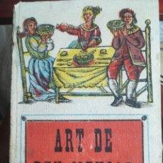 Libros de segunda mano: ART DE BEN MENJAR-- MARTA SALVIA--IMPREMTA R. DURAN I ALSINA- -SIN FECHA EDIC.-DIFICIL. Lote 142959114