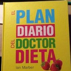 Libros de segunda mano: EL PLAN DIARIO DEL DOCTOR DIETA. - MARBER, IAN.. Lote 143234958
