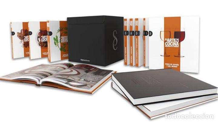 Libros de segunda mano: EL ARTE DE LA COCINA -SIGNO EDITORES- TOTALMENTE PRECINTADA!!! COMPLETAMENTE NUEVA - Foto 2 - 143556762