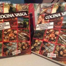 Libros de segunda mano - COCINA VASCA. Nuestra cocina por nuestros mejores cocineros 2 tomos 1987 editorial Sendoa - 143809258