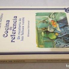 Libros de segunda mano: COCINA DE REFERENCIA / TERESA CORTAZAR ROMERO/ ALIANZA - UN RECETARIO DE LOS FELICES VEINTE. Lote 144049170