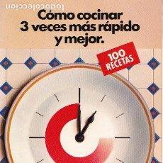 Libros de segunda mano: * RECETAS DE COCINA * 100 RECETAS MULTIRAPID FAGOR. Lote 144670318