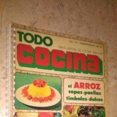 Libros de segunda mano: TODO COCINA, 150 RECETAS A COLOR, EL ARROZ, N° 1. Lote 145116238