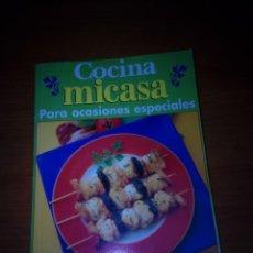 Libros de segunda mano: COCINA MICASA. PARA OCASIONES ESPECIALES 77 RECETAS EXQUISITAS. EST22B5. Lote 145801822
