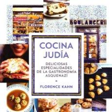 Libros de segunda mano: COCINA JUDIA. KAHN,FLORENCE. C-369.. Lote 179397718