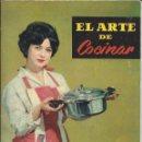 Libros de segunda mano: EL ARTE DE COCINAR. ARIN, LA OLLA A PRESIÓN DEFINITIVA. AÑOS 60/70. Lote 146376150