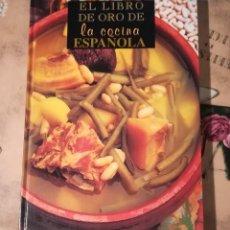 Libros de segunda mano: EL LIBRO DE ORO DE LA COCINA ESPAÑOLA. Lote 146980702