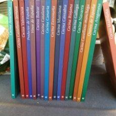 Libros de segunda mano: COCINA REGIONAL / 20 TOMOS COMPLETA. Lote 147396854