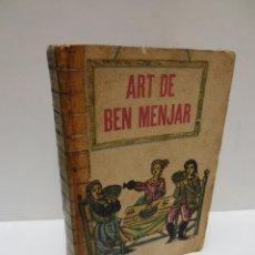 Libros de segunda mano: ART DE BEN MENJAR - MARTA SALVIA - LLIBRE DE CUINA EN CATALÀ .. Lote 147517898