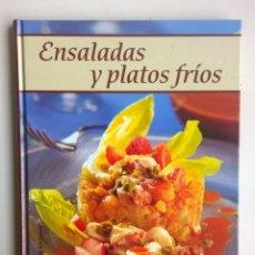 Libros de segunda mano: ENSALADAS Y PLATOS FRÍOS - CÍRCULO DE LECTORES Y RBA EDITORES - AÑO 2003. Lote 147563254
