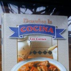 Libros de segunda mano: DESCUBRA LA COCINA, LAS CARNES 2001 CULTURAL S.A.. Lote 147738430