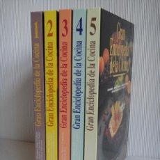Libros de segunda mano: GRAN ENCICLOPEDIA DE LA COCINA. COLECCIÓN COMPLETA EN EXCELENTE ESTADO!!!. Lote 147752618