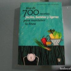 Libros de segunda mano: MAS DE 700 RECETAS FACILES Y BARATAS. Lote 147755202