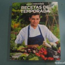 Libros de segunda mano: RECETAS DE TEMPORADA. Lote 147755334