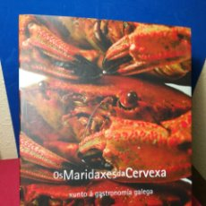 Libros de segunda mano: OS MARIDAXES DA CERVEXA XUNTO Á GASTRONOMÍA GALEGA-ÁLVARO GONZÁLEZ Y ANA ESPINOSA-PRIVATE SPACE,2012. Lote 147885692