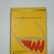 Libros de segunda mano: GUÍA DEL VINO DE EXTERMADURA. - JUNTA DE EXTREMADURA. TDK360. Lote 147991238