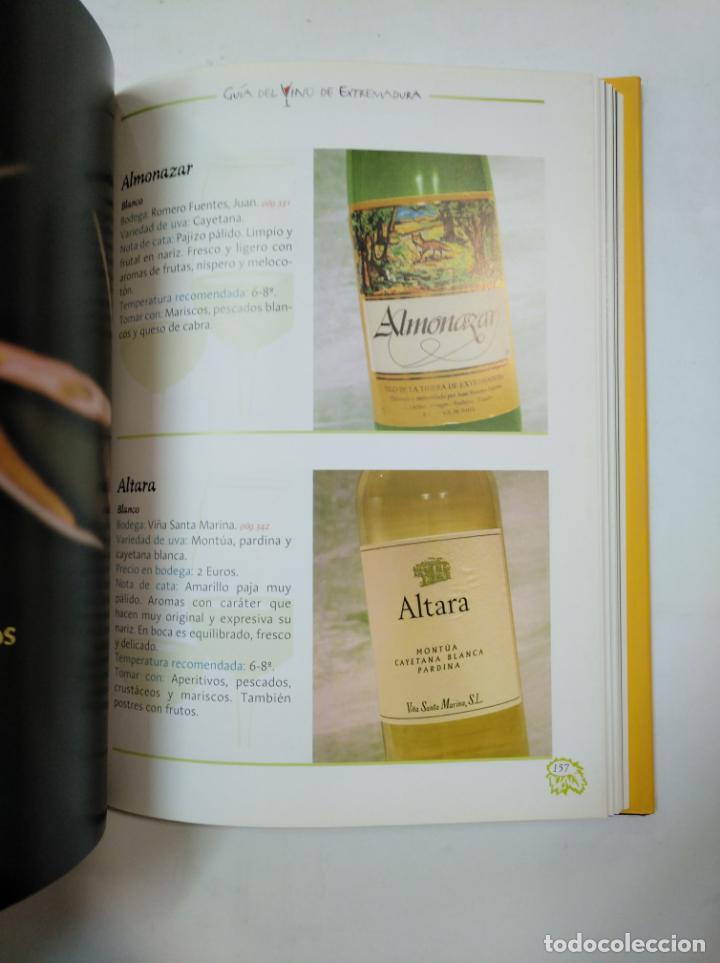 Libros de segunda mano: GUÍA DEL VINO DE EXTERMADURA. - JUNTA DE EXTREMADURA. TDK360 - Foto 3 - 147991238