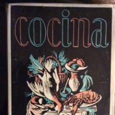 Libros de segunda mano - MANUAL DE COCINA. SECCIÓN FEMENINA DE FALANGE ESPAÑOLA DE LAS JONS. 1950. PRIMERA EDICIÓN. - 148223030