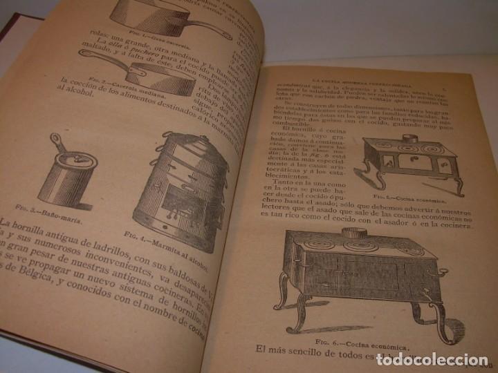 Libros de segunda mano: LA COCINA MODERNA PERFECCIONADA.COCINA,PASTELERIA,REPOSTERIA Y BOLLERIA.CON ILUSTRACIONES. - Foto 5 - 148591914