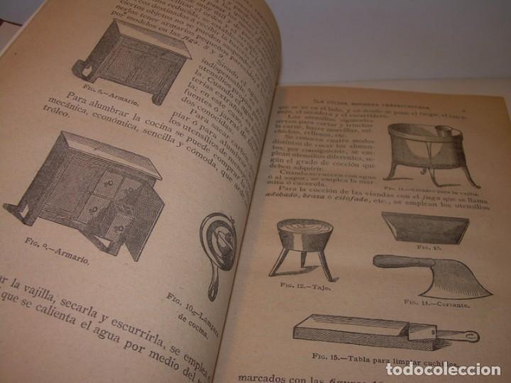 Libros de segunda mano: LA COCINA MODERNA PERFECCIONADA.COCINA,PASTELERIA,REPOSTERIA Y BOLLERIA.CON ILUSTRACIONES. - Foto 6 - 148591914