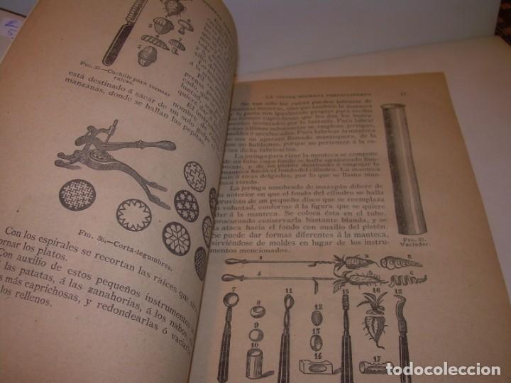 Libros de segunda mano: LA COCINA MODERNA PERFECCIONADA.COCINA,PASTELERIA,REPOSTERIA Y BOLLERIA.CON ILUSTRACIONES. - Foto 10 - 148591914
