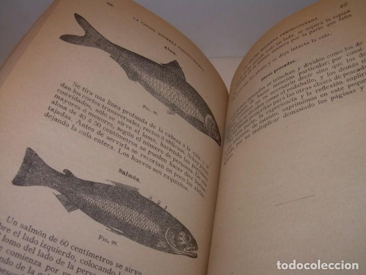 Libros de segunda mano: LA COCINA MODERNA PERFECCIONADA.COCINA,PASTELERIA,REPOSTERIA Y BOLLERIA.CON ILUSTRACIONES. - Foto 25 - 148591914
