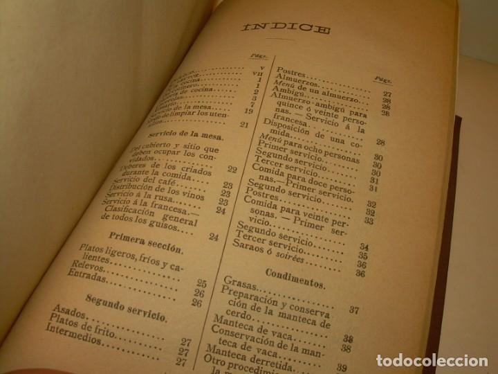 Libros de segunda mano: LA COCINA MODERNA PERFECCIONADA.COCINA,PASTELERIA,REPOSTERIA Y BOLLERIA.CON ILUSTRACIONES. - Foto 29 - 148591914