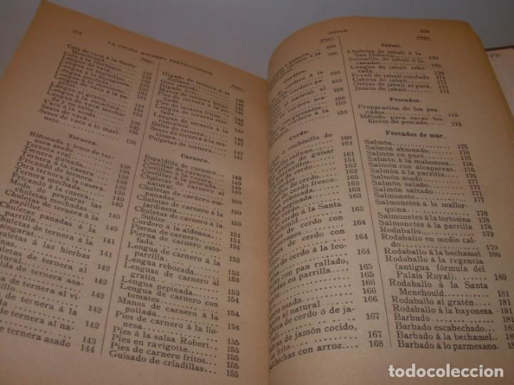 Libros de segunda mano: LA COCINA MODERNA PERFECCIONADA.COCINA,PASTELERIA,REPOSTERIA Y BOLLERIA.CON ILUSTRACIONES. - Foto 32 - 148591914