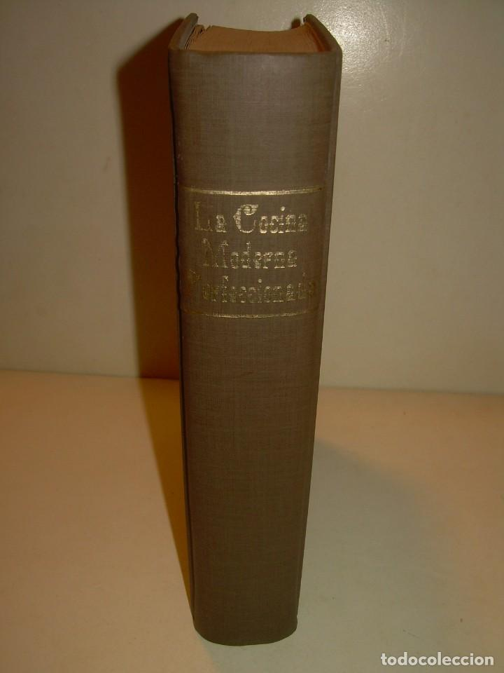 Libros de segunda mano: LA COCINA MODERNA PERFECCIONADA.COCINA,PASTELERIA,REPOSTERIA Y BOLLERIA.CON ILUSTRACIONES. - Foto 41 - 148591914