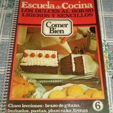 Escuela de cocina comer bien colecci n comp comprar libros de cocina y gastronom a en - Libro escuela de cocina ...