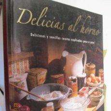 Livros em segunda mão: DELICIAS AL HORNO - DELICIOSAS Y SENCILLAS RECETAS EXPLICADAS PASO A PASO.. Lote 150167126