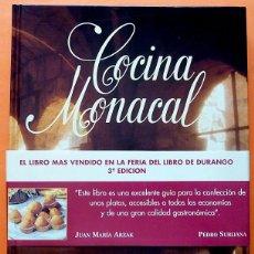 Libros de segunda mano: COCINA MONACAL: SECRETOS CULINARIOS DE LAS HERMANAS CLARISAS - 1995 - NUEVO. Lote 150311634