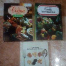 Libros de segunda mano: LA COCINA,FRUTOS SECOS,RECETAS,PARRILLAS,COMIDA,RECETA. Lote 150792109