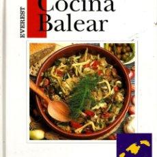 Libros de segunda mano: COCINA BALEAR. CATY JUAN DE CORRAL . Lote 150864490